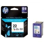 HP oryginalny ink C9352AE, HP 22, color, blistr, 138s, 5ml, HP PSC-1410, DeskJet F380, D2300, OJ-4300, 5600