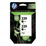 HP oryginalny ink C9504EE, HP 339, black, 1600 (2x800)s, 2x21ml, HP 2-Pack, C8767EE, Photosmart 8150, OJ-7410, DJ-5740