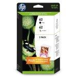 HP oryginalny zestaw tuszy N9J71AE, HP 62, black/color, 200/165s, 4.4.2005ml, HP Envy 5640, 5644, 5660, 7640, Officejet 8040 wit