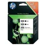 HP oryginalny ink SD518AE, HP 300, 2x black + 1x 3-color, 1x165/2x200s, SD518AE, HP HP DeskJet F4500