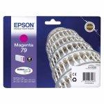 Oryginalny, kompatybilny Tusz Epson T79  do  WP-5110/5190/5620/5690 | 7 ml |    magenta