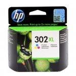 Tusz HP 302XL do Deskjet 1110/2130/3630 | 330 str. | CMY