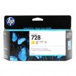 Tusz HP 728 do Designjet T730/T830 | 130ml | yellow