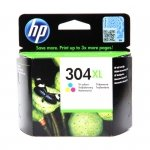 Tusz HP 304XL do Deskjet 3720/30/32 | 300 str. | CMY