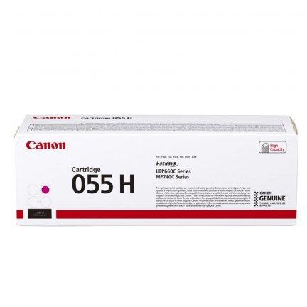 Toner Canon CRG055HM do i-SENSYS MF742Cdw/MF744Cdw | 5900 str. | Magenta