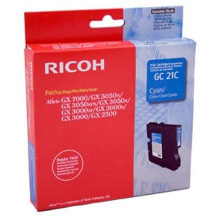 Oryginalny, kompatybilny Tusz Ricoh do GX2500/3000/3050/5050/7000 | 1 000 str. | cyan