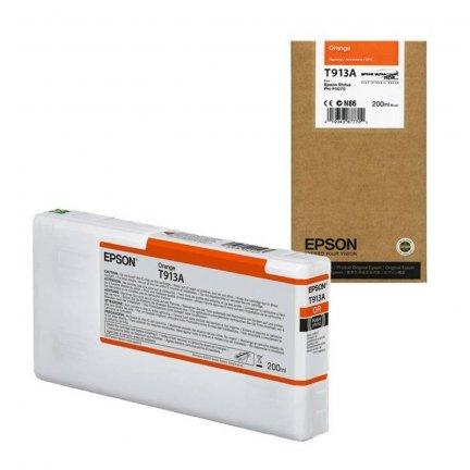 Tusz Epson T913A do Sure Color SC-P5000 | 200 ml | Orange
