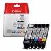 Oryginalny, kompatybilny Tusz  Canon  PGI570/CLI571PGB  do  Pixma MG-5750/6850/7750 | CMYK EOL
