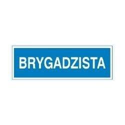 Znak BRYGADZISTA 801-63 P.Z.