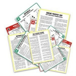 Instrukcja postępowania na wypadek pożaru dla budynków magazynowych z materiałami niebezpiecznymi 222-07