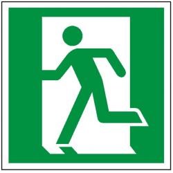 Znak drzwi ewakuacyjne lewe 109 (F.F.)