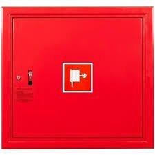 Hydrant wewnętrzny z wężem półsztywnym 25/30 zawieszany czerwony