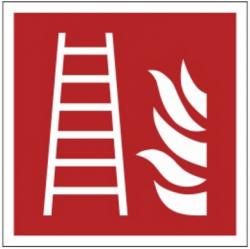 Znak drabina pożarowa F03 (FZ)