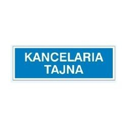 Znak KANCELARIA TAJNA 801-86 F.Z.