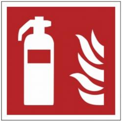 Znak gaśnica F01 (FZ)
