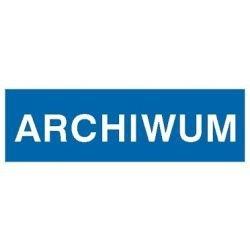Znak ARCHIWUM 801-33 F.Z.