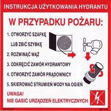 Hydrant wewnętrzny z wężem półsztywnym 25/20 zawieszany biały