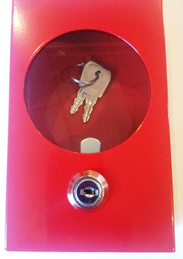 Kasetka na kluczyk ewakuacyjny