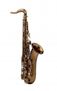 RAMPONE&CAZZANI saksofon tenorowy PERFORMANCE LINE, lakierowany - ciemny lakier klarowny, bez futerału
