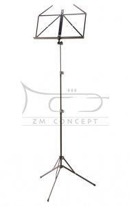 K&M 10052 pulpit do nut, czarny, składany, wysoki
