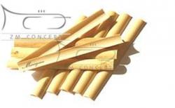 MARIGAUX drewno niefasonowane do stroików oboju 10M (10 szt.)