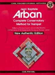 Arban, Complete Conservatory Method (+MP3+PDF) : for trumpet (authentic edition)