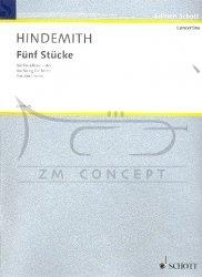 Hindemith, Paul: 5 Stücke op. 44,4: na orkiestrę smyczkową, głosy (5-5-3-3-2)