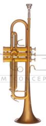 B&S trąbka B Heritage MBXHLR-8M-0 Brushed gold lacquer, z futerałem