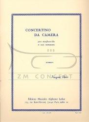 Ibert, Jacques Concertino da camera pour saxophone alto et 11 instruments : na saksofon altowy i fortepian