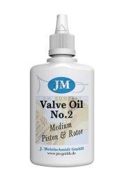 JM Valve Oil 2 oliwka do wentyli tłokowych i obrotowych Medium (średnio gęsta) 50ml