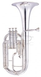 JOHN PACKER Sakshorn altowy Es JP172S Silverplate, posrebrzany, z futerałem
