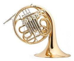 JOSEF LIDL waltornia podwójna F/Bb LHR860 Filharmonic, złoty mosiądz, rozk. czara, bez futerału