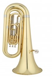 ANDREAS EASTMAN tuba Bb EBB322, STUDENT, 3/4, 3 wentyle tłokowe, lakierowana, z futerałem