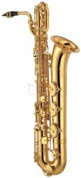 YAMAHA saksofon barytonowy Eb YBS-62SE posrebrzany, z futerałem