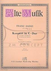 Danzi Franz: Konzert C-dur, fagot i orkiestrę, partytura