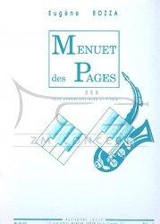 Bozza E.: Menuet des Pages: na saksofon altowy i fortepian