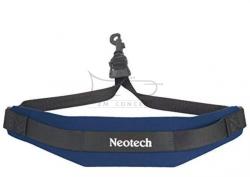 NEOTECH pasek do saksofonu Soft Regular, Swivel, Navy (niebieski)