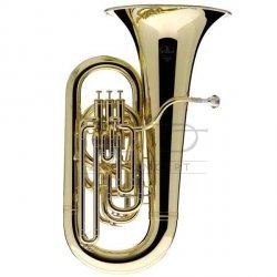 BESSON tuba Eb Sovereign 980-1-0 lakierowana, 4 wentyle tłokowe (3+1), kompensacyjna, z futerałem