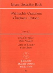 Bach Jan Sebastian: Weihnachts-Oratorium, BWV248, mała partytura