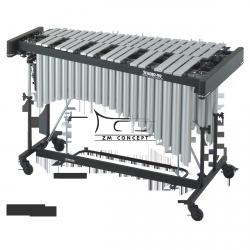 STUDIO49 WIBRAFON profesionalny, srebrny lakier, model RVP 3030/S, 3 oktawy, z futerałem
