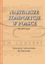 Węcowski Jan, Najstarsze kompozycje w Polsce. XI-XVI wiek