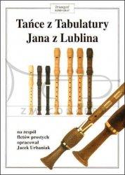 TRIANGIEL Tańce z Tabulatury Jana z Lublina, tom I, na zespół fletów prostych,  opracował Jacek Urbaniak