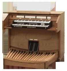 ALLEN organy cyfrowe seria Church, model CF-4