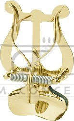aS Pulpit, Lirka marszowa, pulcik do trąbki mocowana na czarę, mosiężna duża 01587100