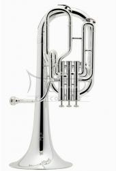 BESSON sakshorn tenorowy Bb BE157-S, 3 wentyle tłokowe, posrebrzany, z futerałem