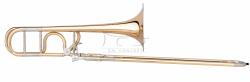 B&S puzon tenorowy Bb/F Meistersinger MS14KN-1-0, lakierowany z futerałem