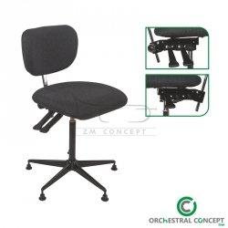 ORCHESTRAL CONCEPT Krzesło orkiestrowe uniwersalne - komfortowe UNIVERSAL 02
