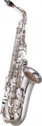 YAMAHA saksofon altowy YAS-875EXS posrebrzany, z futerałem