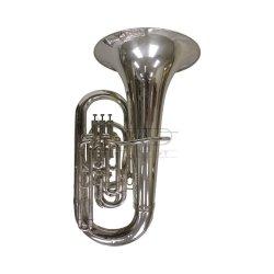 BESSON tuba Eb Sovereign 981S-2-0 posrebrzana, 4 wentyle tłokowe (3+1), kompensacyjna, z futerałem