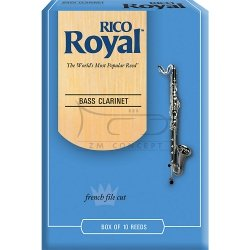 RICO ROYAL stroiki do klarnetu basowego - 2,5 (10)
